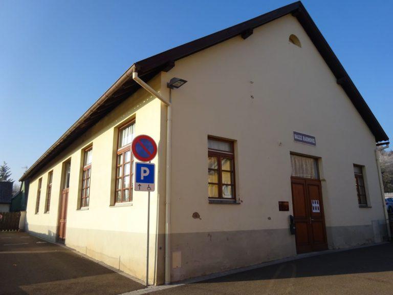 Salle Harmonie - extérieur