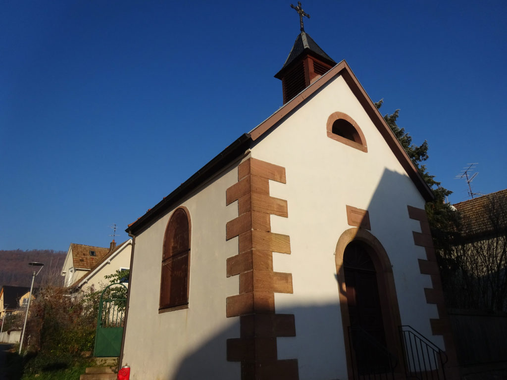 La chapelle Rue Clog-Strebler